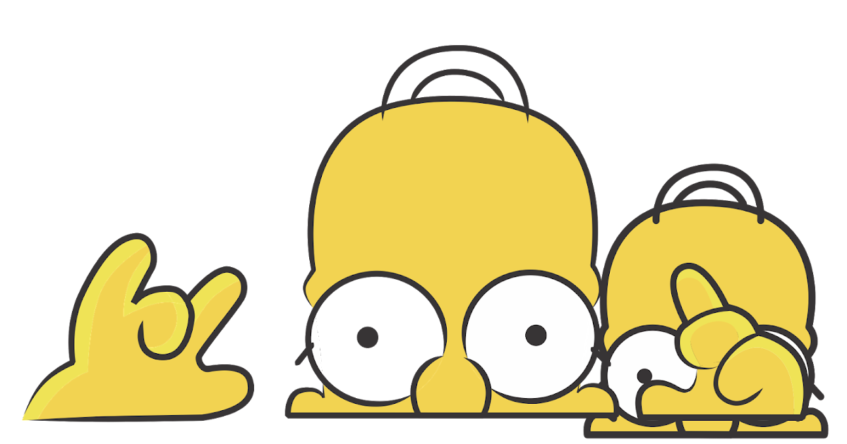 The simpsons logo vector format cdr ai eps svg pdf png - Bart simpson nu ...
