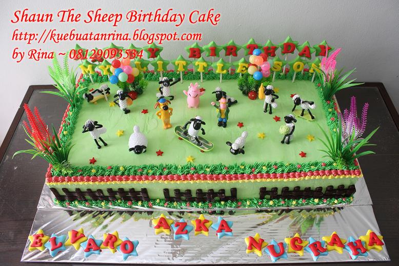 Masama Cakes Shaun The Sheep Birthday Cake For Alvaro