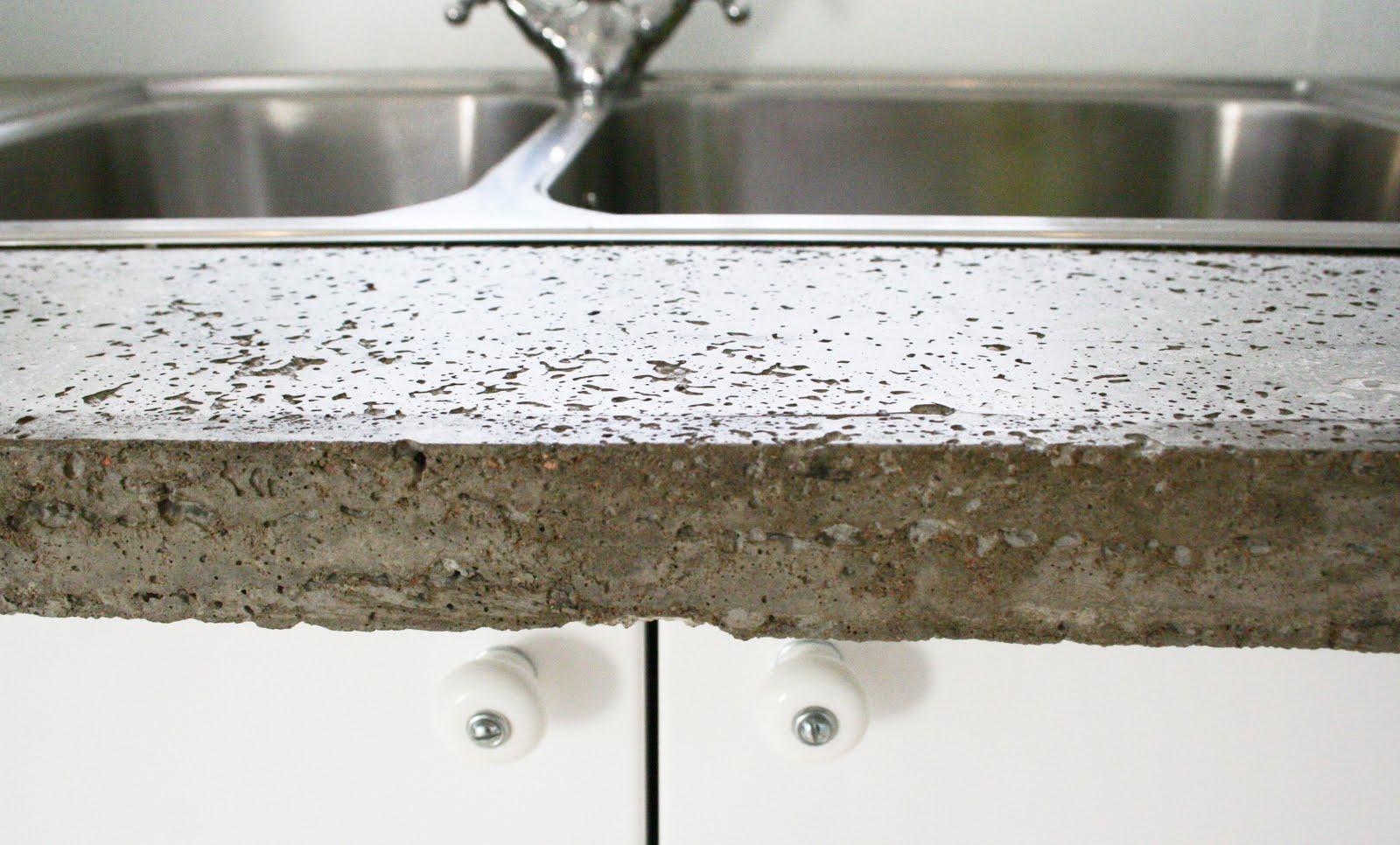 gjuta diskho i betong
