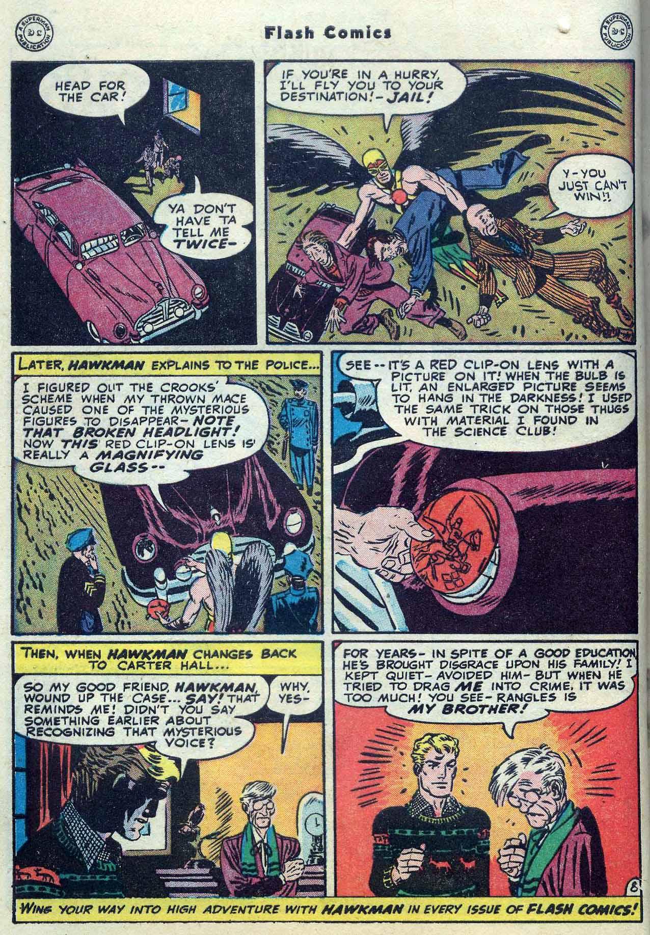 Flash Comics Issue #104 #104 - English 10