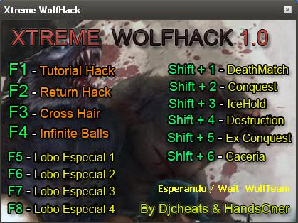 Wolfteam Hile Extreme Wolfbot v1.0 Return CrossHair Infinite Ball Ve
