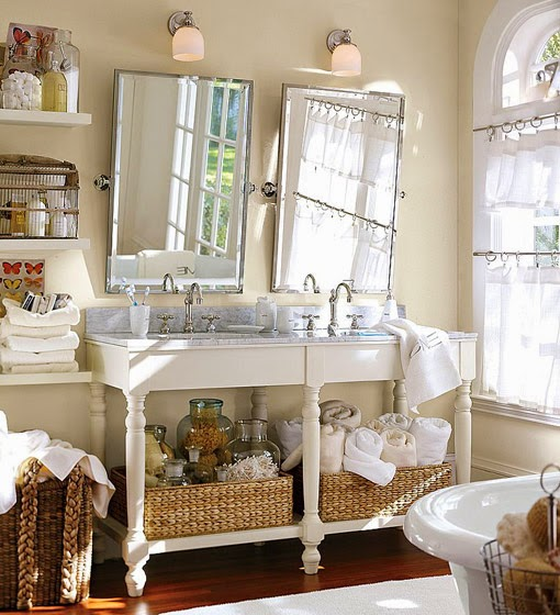 Accesorios De Baño Antiguos:Decotips] Consigue un look vintage en el baño – Virlova Style