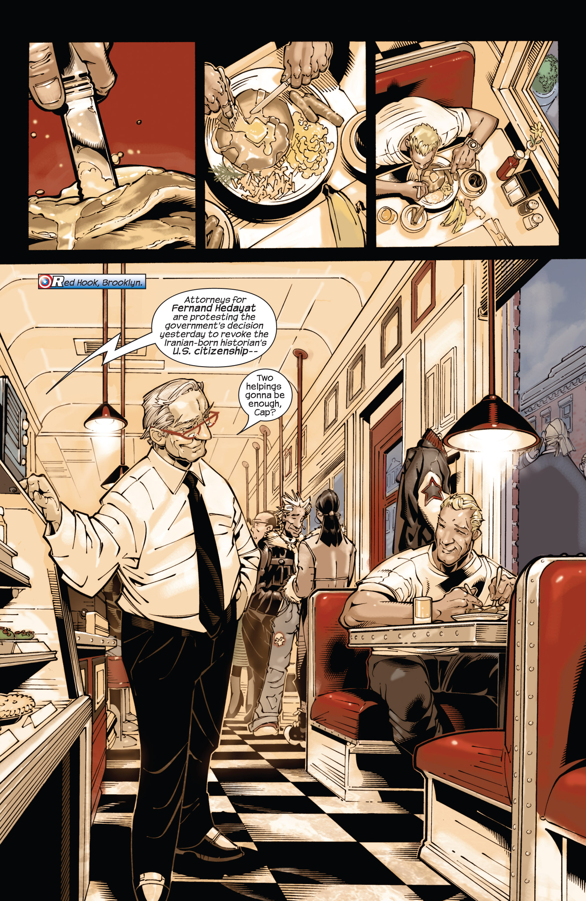 Captain America (2002) Issue #21 #22 - English 10