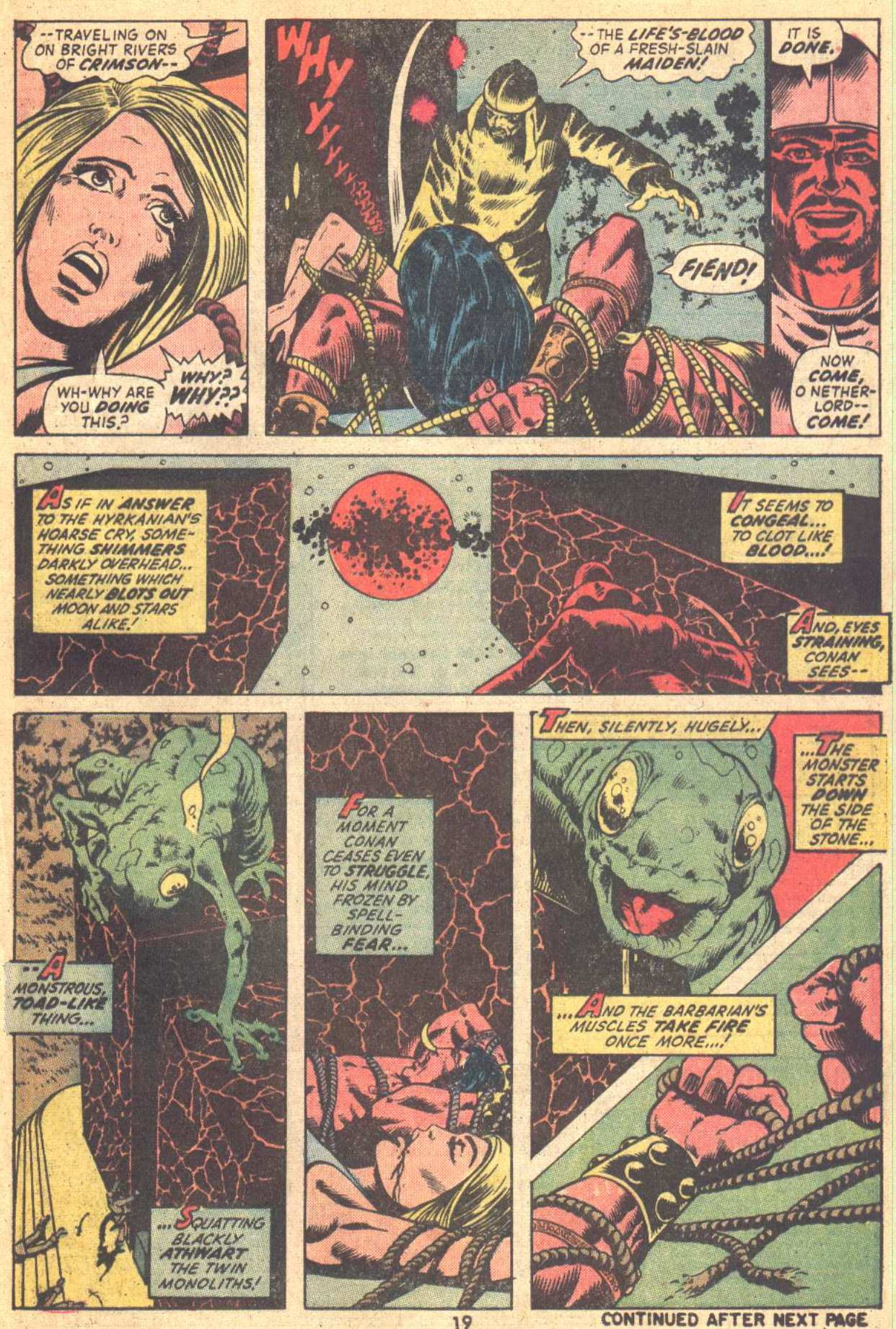Conan the Barbarian (1970) Issue #21 #33 - English 15