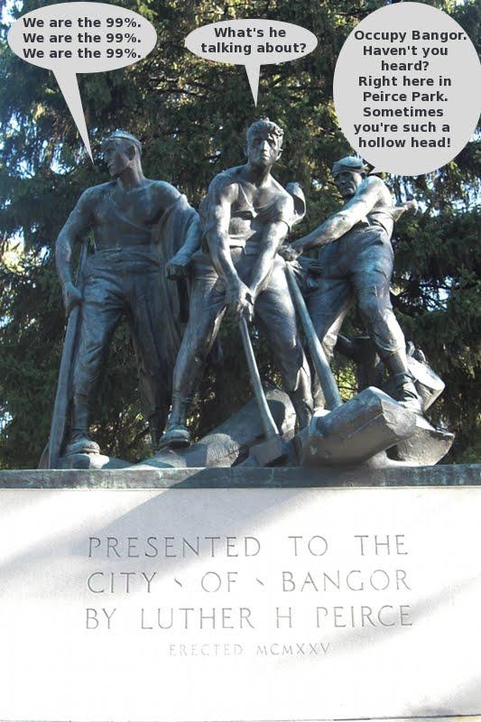 Occupy_Bangor,Peirce_Park
