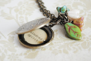 Anne of Green Gables Locket Necklace by BusyBeezChickadeez