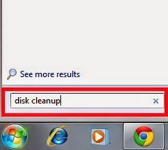 gambar cara membersihkan drive PC