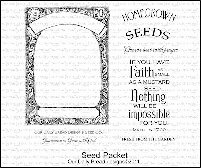 Our Daily Bread designs Seed Packet Set