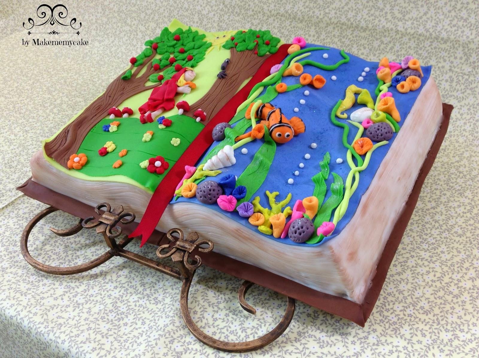 Как сделать торт книгу с мастики