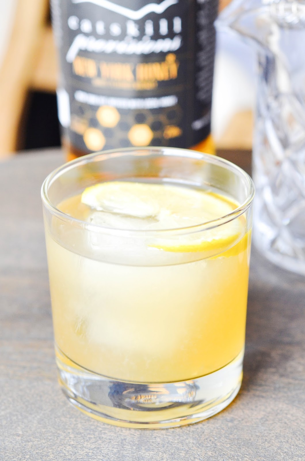 lavender honey whiskey lemonade | prosecco in the park