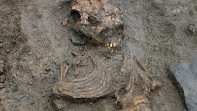 Medieval 'vampire' burial discovered in Britain