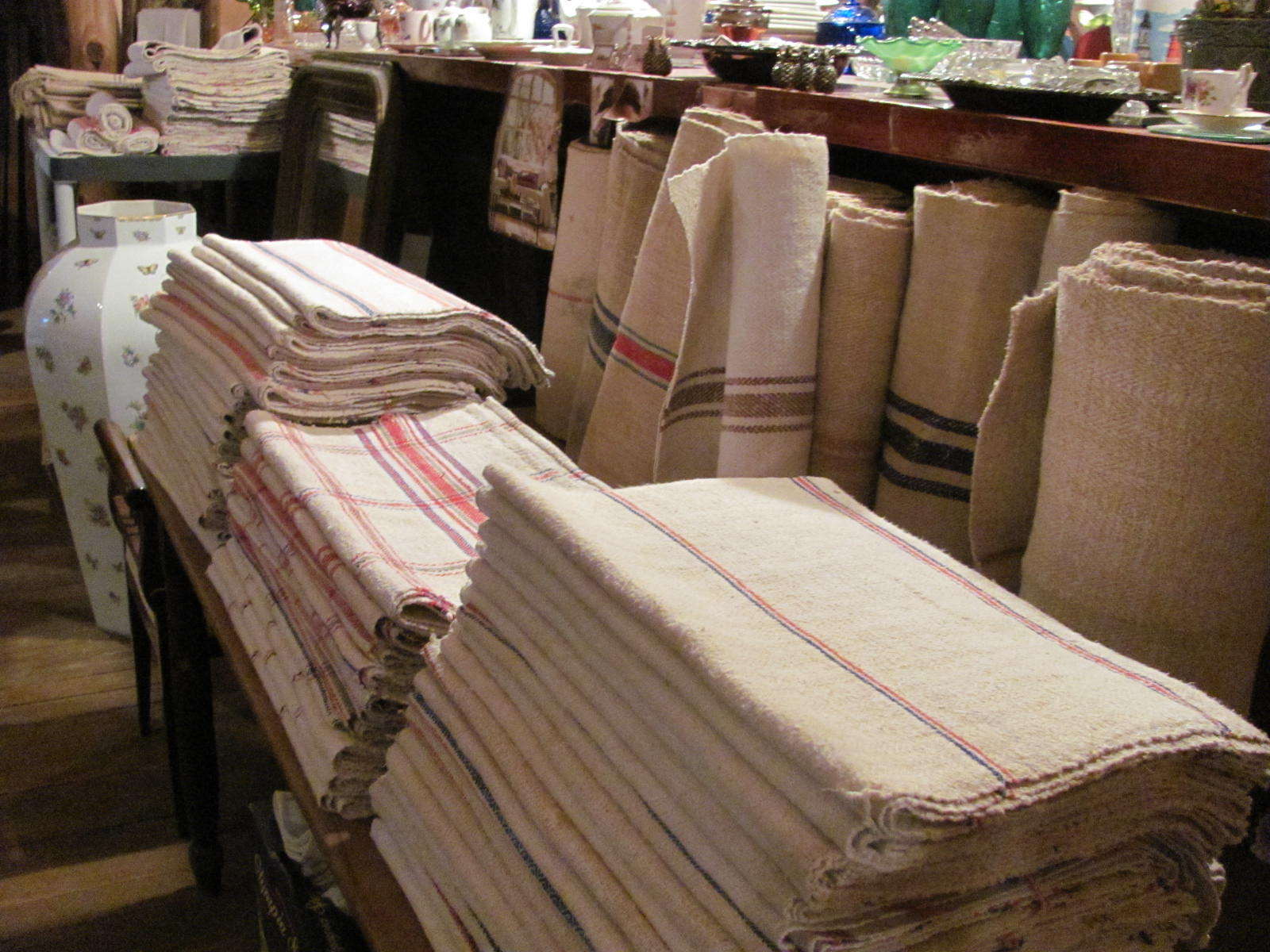 This Is Anna And Her Wonderful Store In Warrenton TX, Filled With  Jaw Dropping Handmade Imported Linens That She Brings Back From Her Home  Country Of ...
