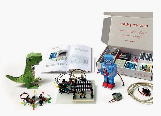 ARDUINO CREATOR KIT by FRITZING