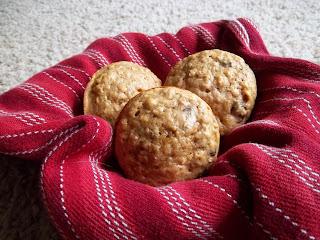 Whole Wheat Oatmeal Raisin Muffins