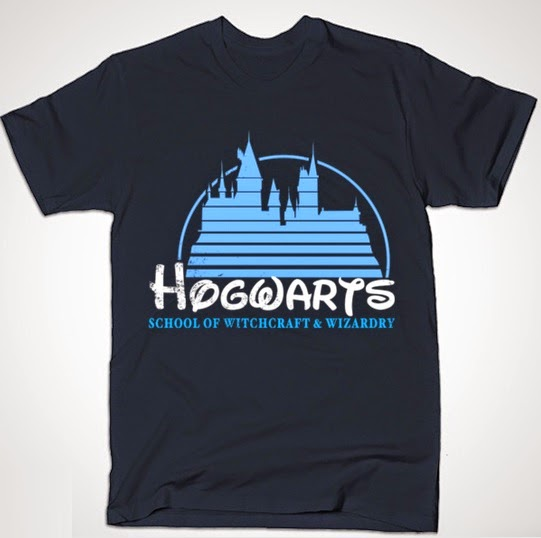 "Disney x Harry Potter ""Hogwarts Castle"" T-Shirt by Blair J. Campbell"