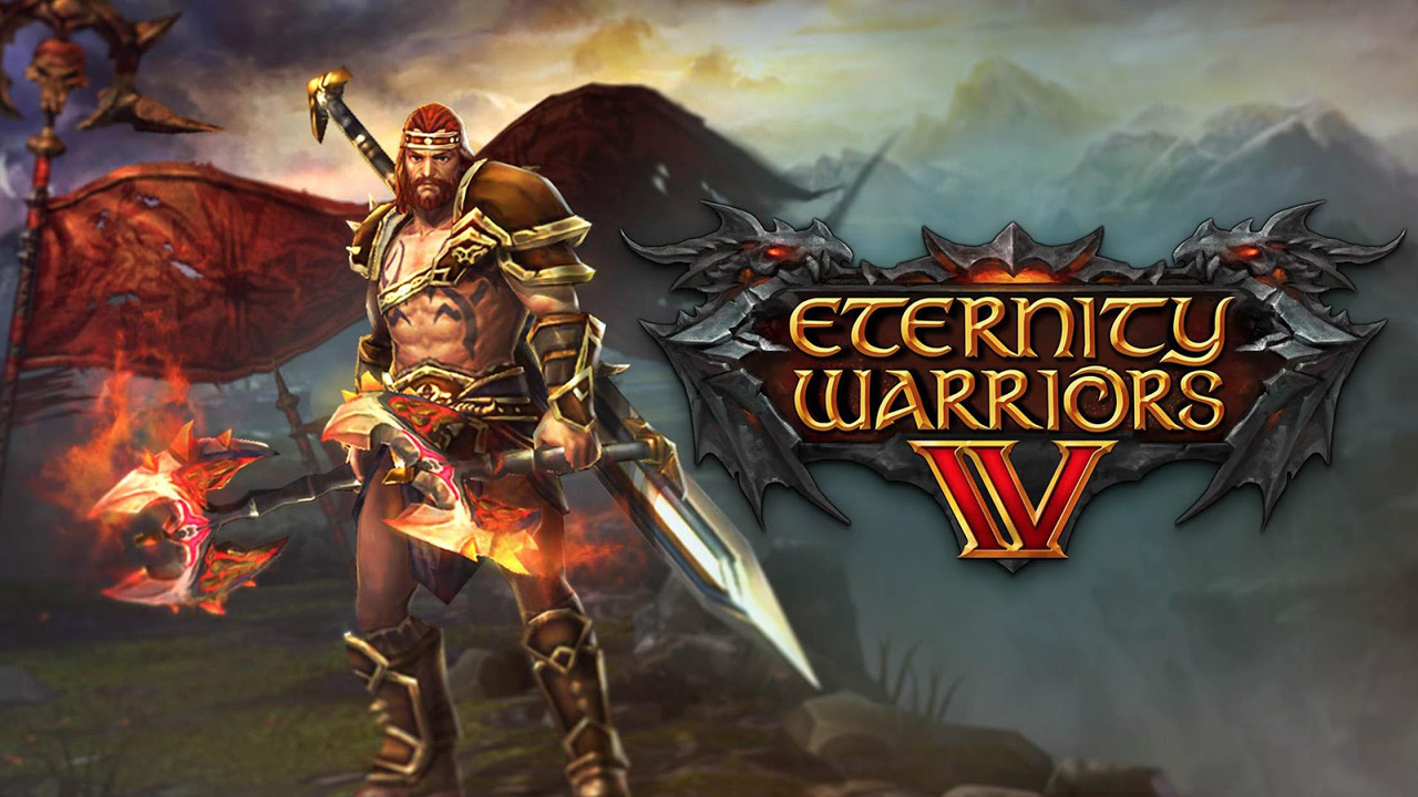 ETERNITY WARRIORS 4 Gameplay IOS / Android