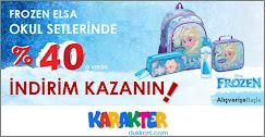 Frozen Elsa Okul Setlerinde %40 indirim Kazanın!