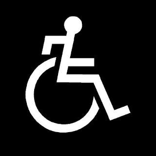 pictograma usuario silla ruedas activo