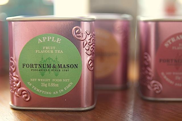 tea from fortum & mason