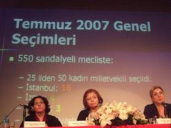 """Kadın Adayları Destekleme Derneği Panel """"Siyaset ve Kadın"""" : 2 Kasım 2012, İstanbul"""