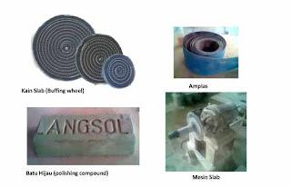 Bahan dan alat yang digunakan membuat produk resin bening