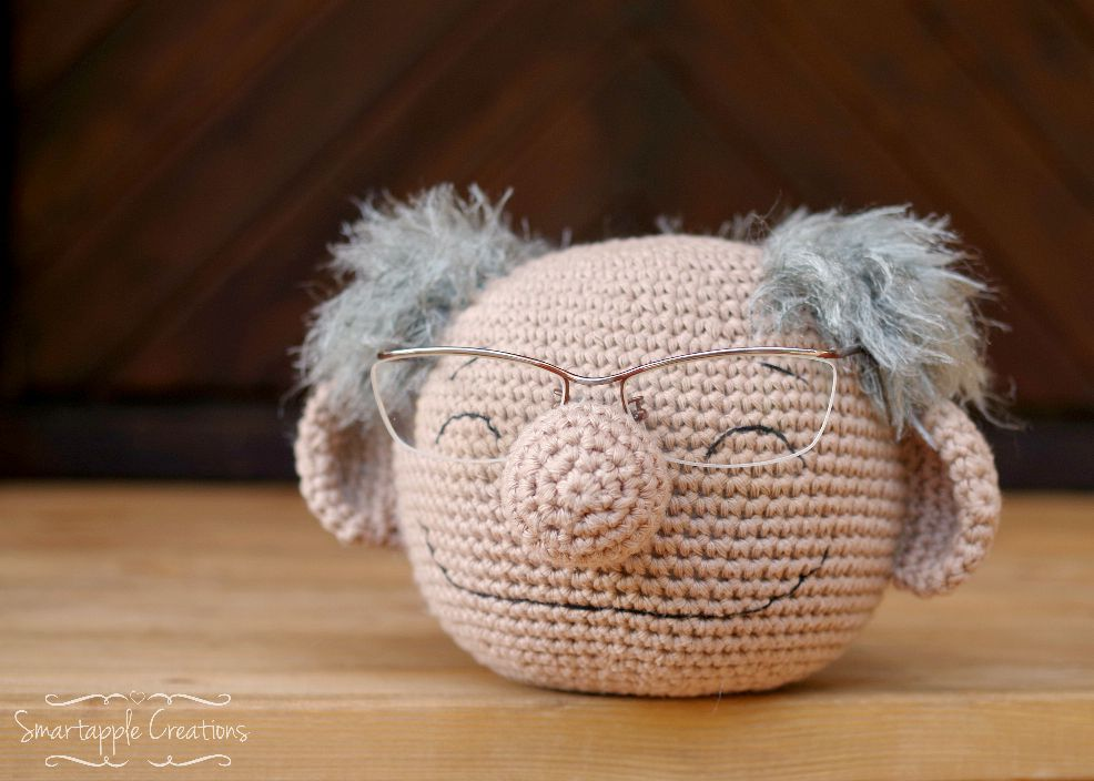 Crochet Amigurumi Head : Smartapple Creations - amigurumi and crochet