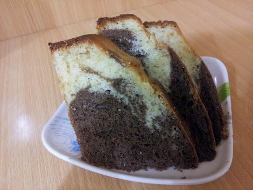 طريقة عمل الكيكة الرخامية | ماربل كيك