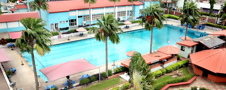 Lagos Airport Hotel swimming pool