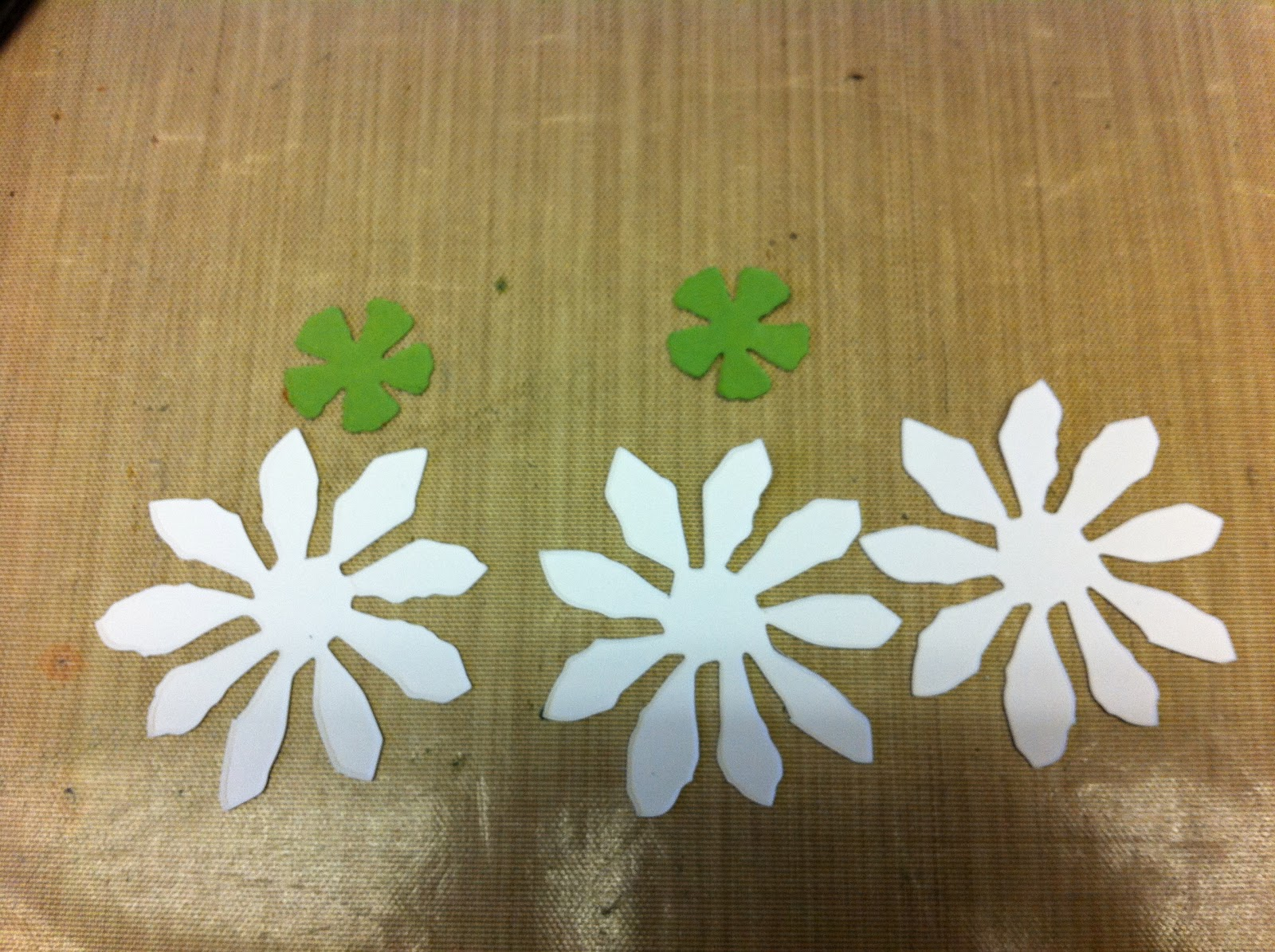 How To Make Paper Snowdrops