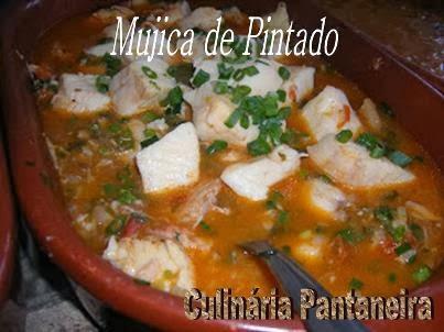 Mujica de Pintado - Culinária Pantaneira