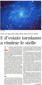 E d'estate torniamo a rimirar le stelle