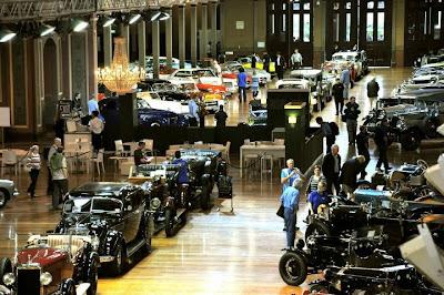 Motorclassica 2011 show luxury cars classic