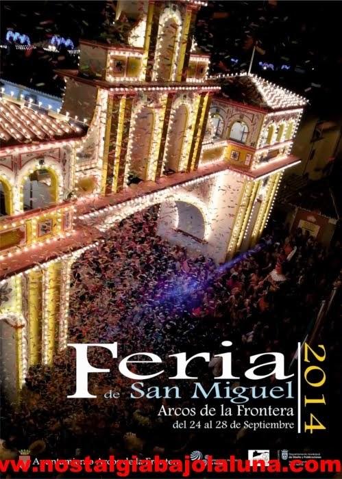 CARTEL FERIA DE SAN MIGUEL ARCOS DE LA FRONTERA 2014
