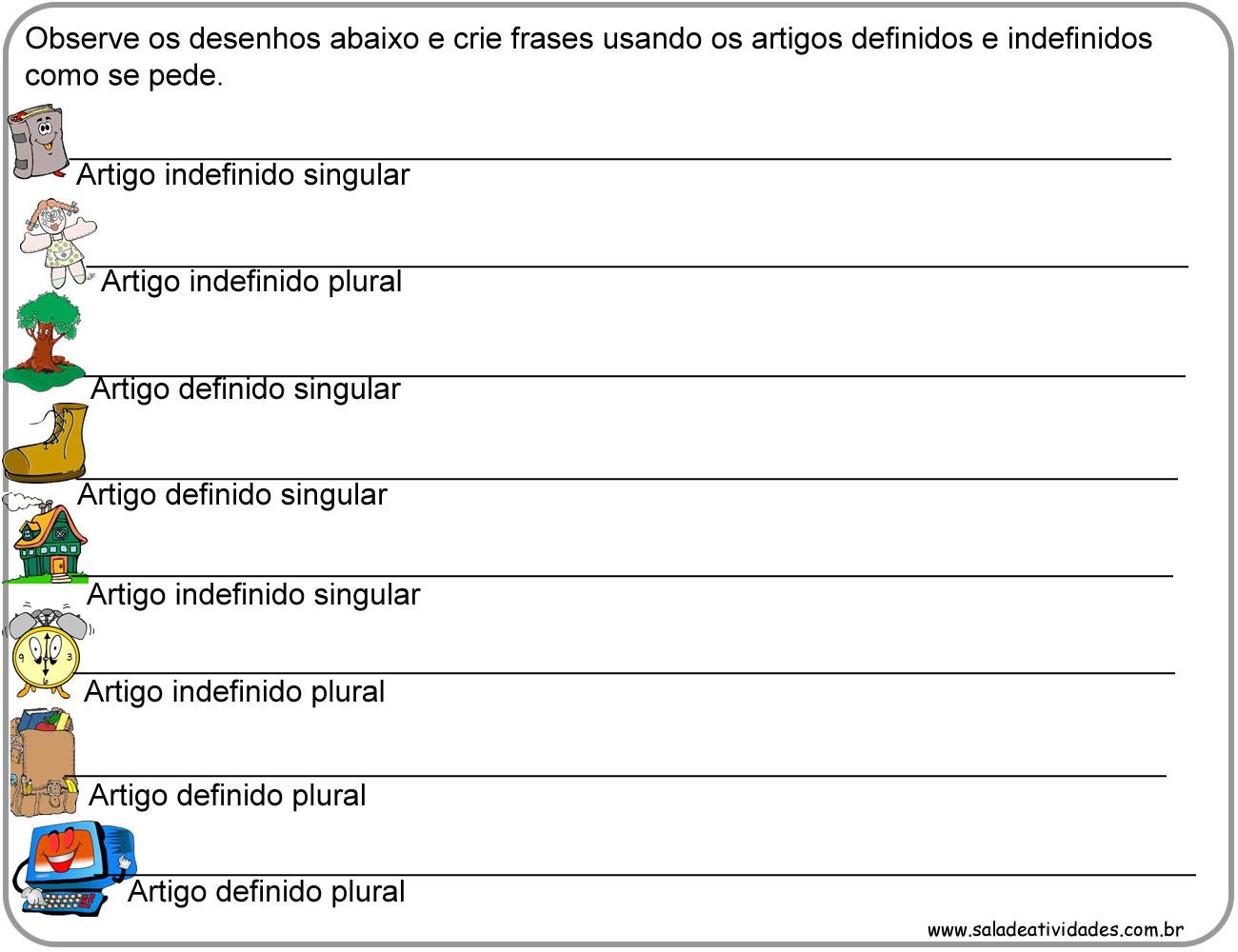 Artigos em ingles