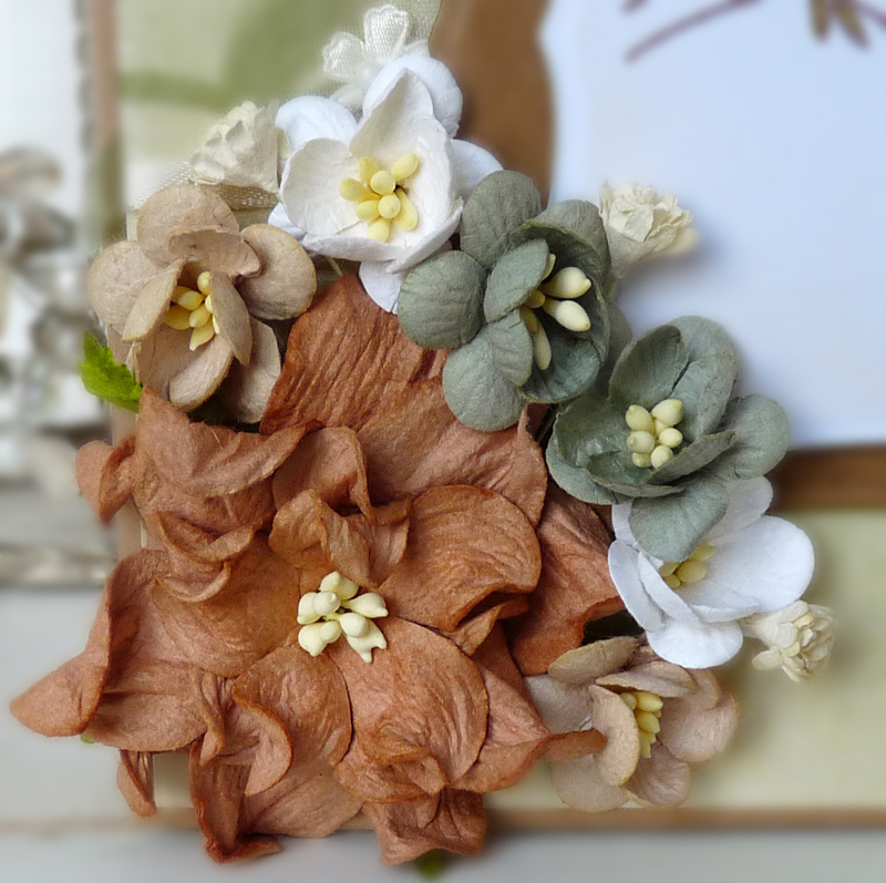 mulberry paper flowers