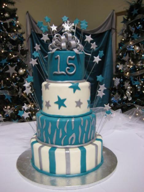 Torta modelo estrella de 15 años - Imagui