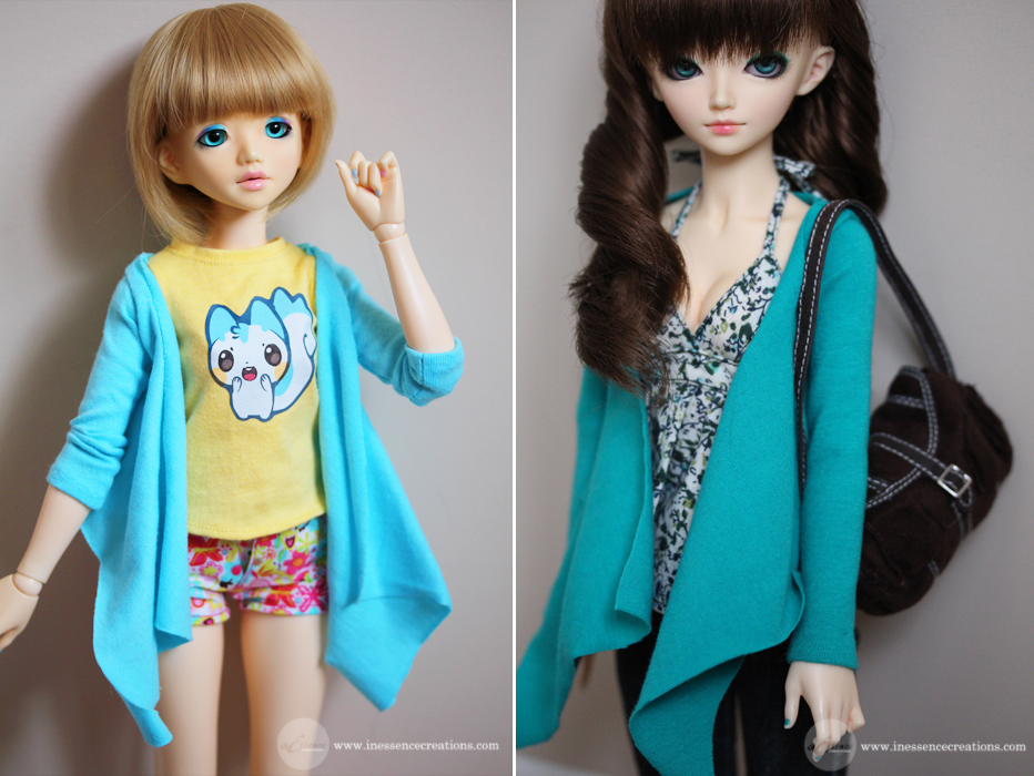 inEssence Creations - MiniFee Butterfly Cardigans