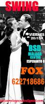 SWING- FOX EN NOV Y DICIEMBRE, LOS VIERNES A LAS 20:15H, EN BSD BAILAS SOCIAL DANCE MÁLAGA CENTRO .