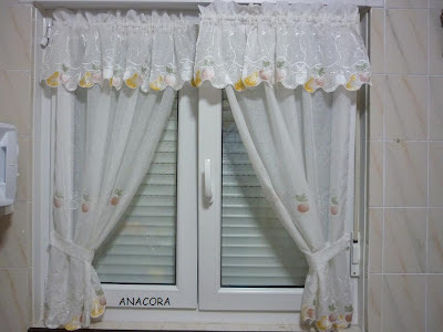El rinc n de anacora cortinas para la cocina for Telas cortinas cocina