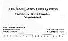 Doctor López Garzón