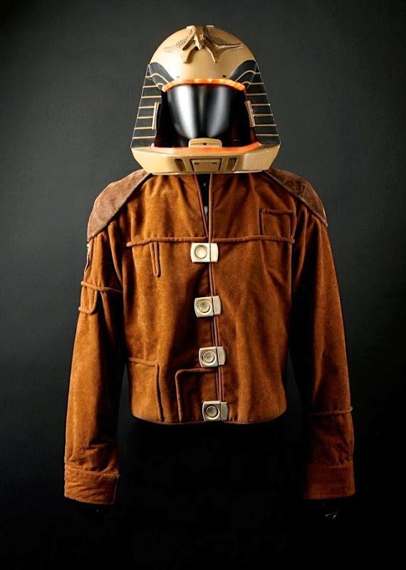 Battlestar Galactica Colonial Viper Pilot helmet jacket