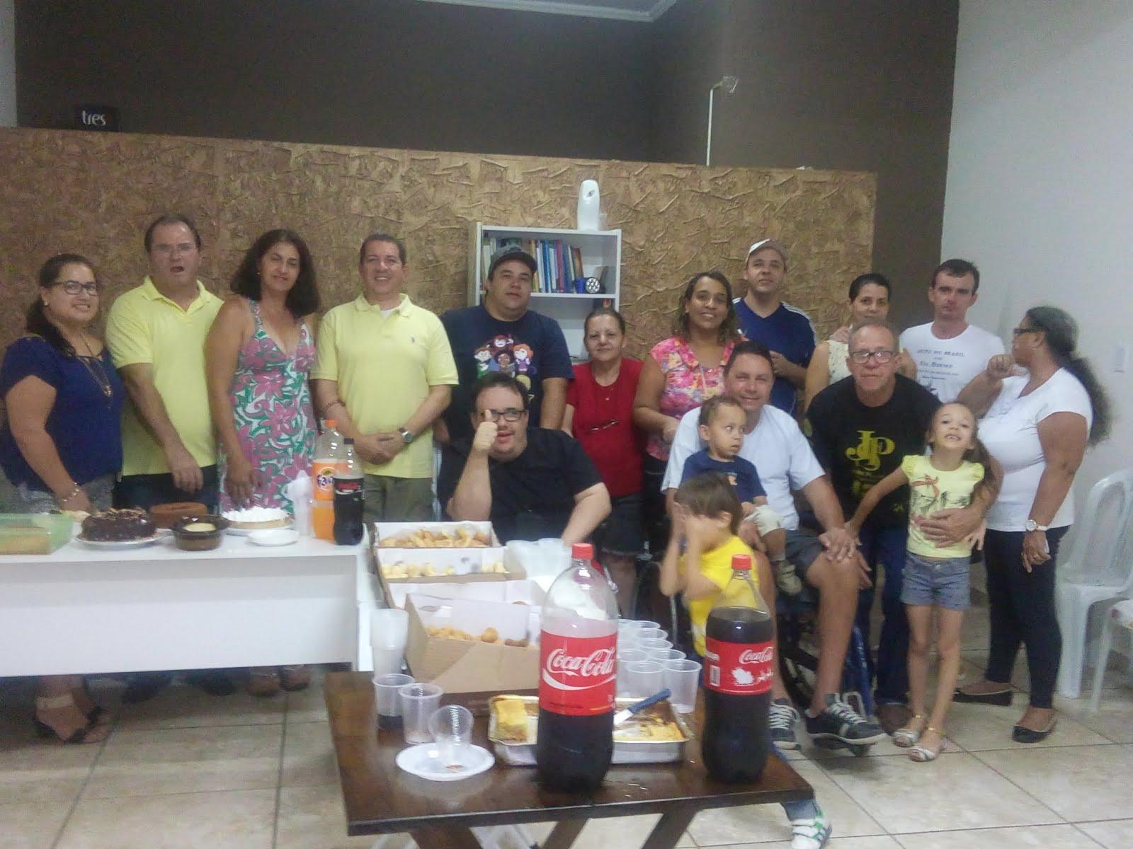 Festa de confreternização - 2015