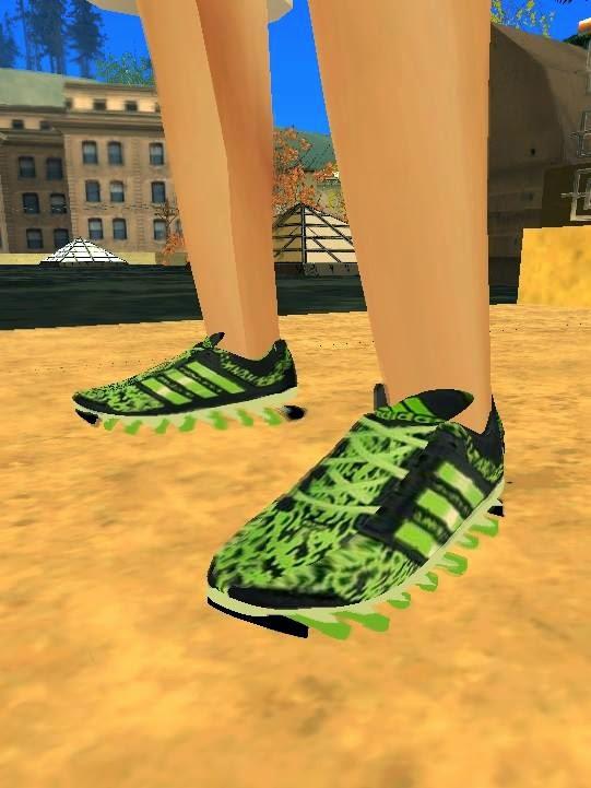 adidas springblade verde gta sa
