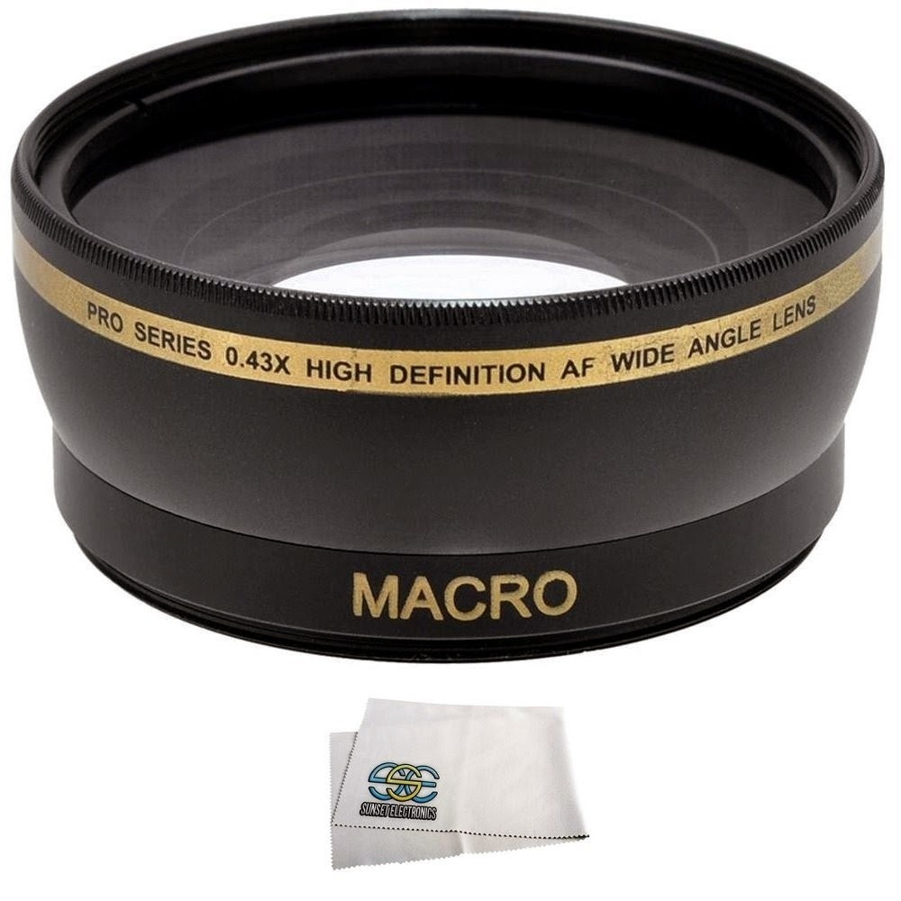 Wide AngleMacro Lens for the Canon SL1 T5 T3 T5i T4i T3i T2i T1i Xsi XS 60D 70D 7D 6D 5D Mark II 5D Mark III DSLR Cameras which have any of these 18-55mm, 55-250mm, 75-300mm III, 70-300mm IS USM, 24mm f2.8, 28mm f1.8, 50mm f1