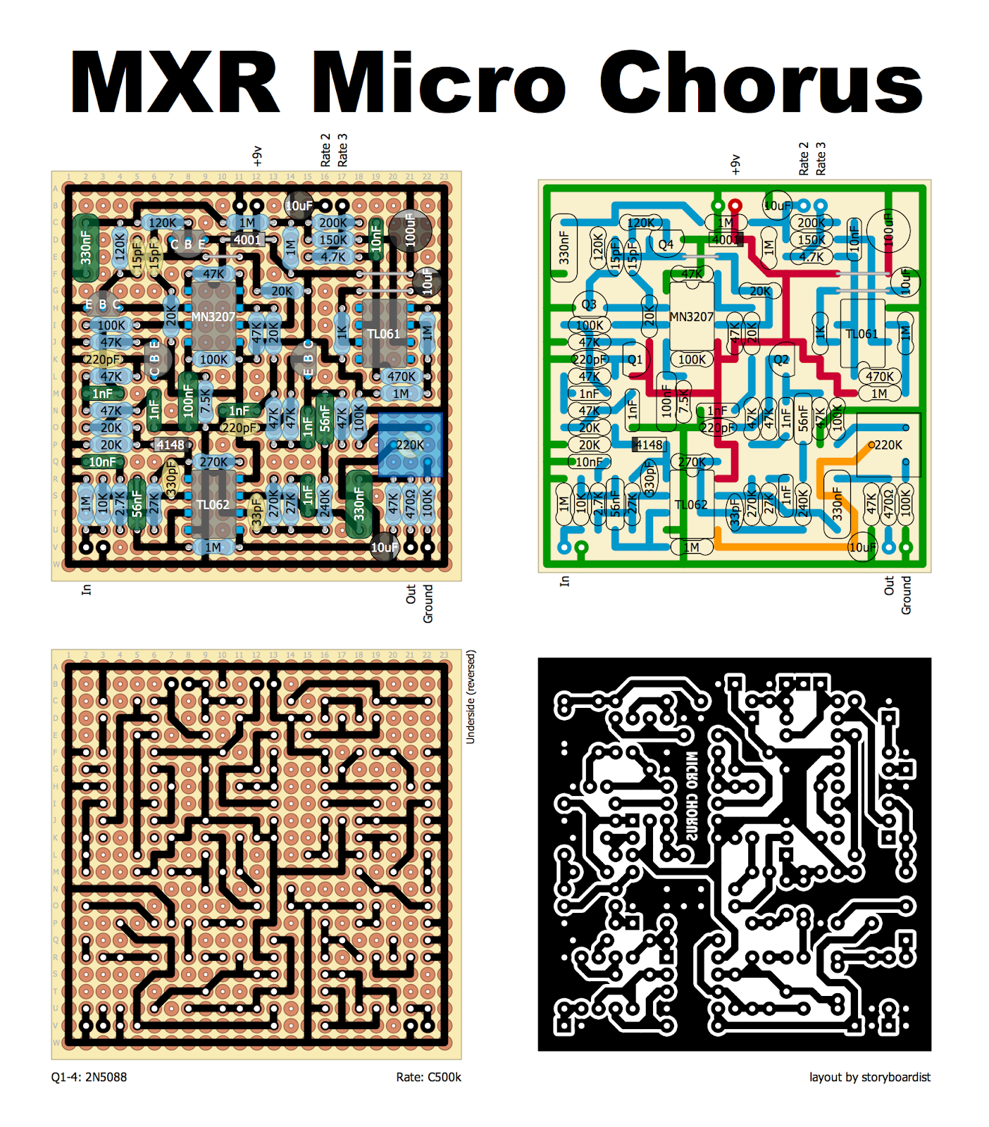 Mxr Phase 100 Schematic Trusted Wiring Diagrams Guitar Pedal Micro Flanger Electrical Diagram House U2022 Klon Centaur Source Ross R2 Effects