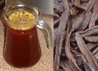 الخروب,عصير الخروب,الحموضه,علاج قرحة المعدة,علاج المناعة,فوائد الخروب,شجرة الخروب