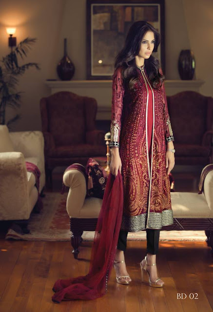Maria B Mbroidered Eid Collection