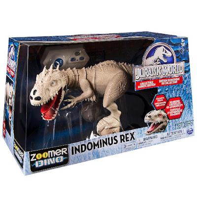 TOYS : JUGUETES - Zoomer Dino : Jurassic World  Indominus Rex | Collectible Robotic Edition  Producto Oficial de la Película 2015 | Spin Master | A partir de 5 años  Comprar Amazon España & Buy Amazon USA