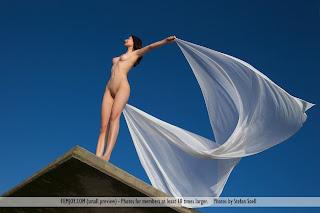 Chica desnuda