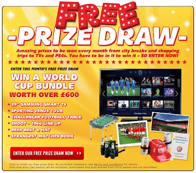 World Cup Prize Draw Bundle